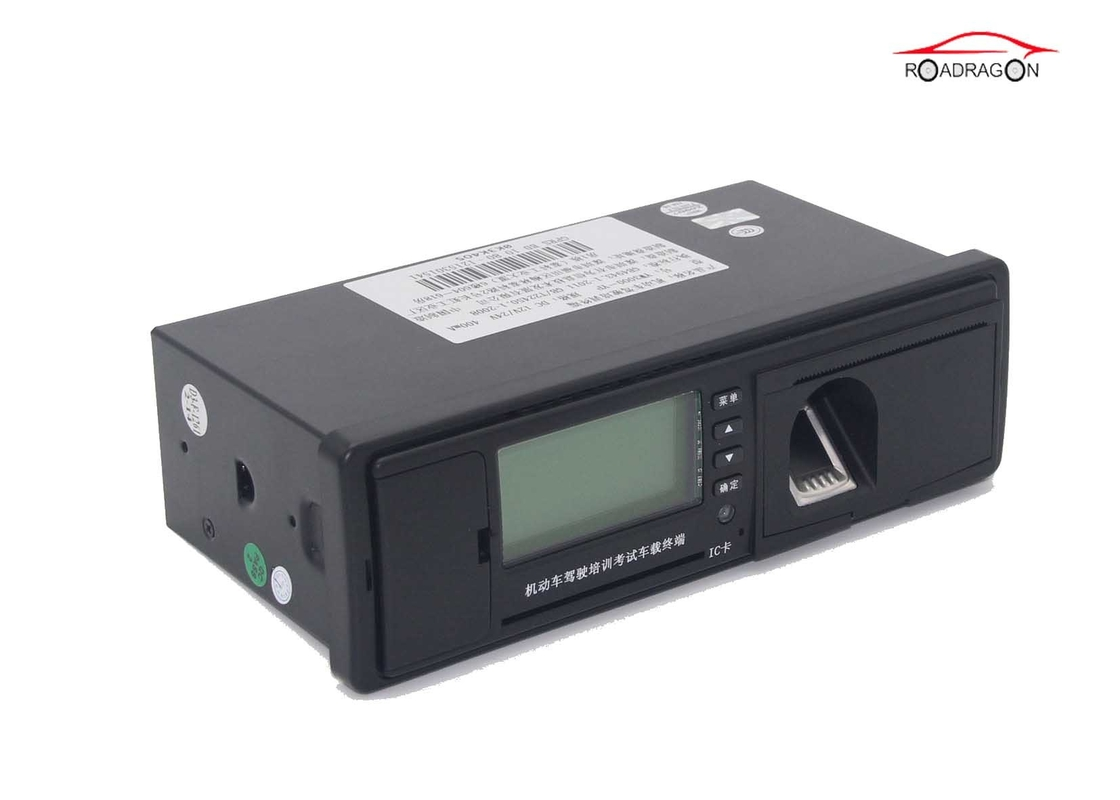 Safety Monitoring GPS Digital Tachograph , Digitaler Tachograph Dual Core Chip